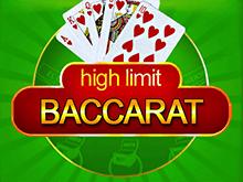 High Limit Baccarat